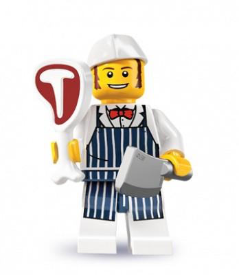 レゴ ミニフィグ シリーズ6 肉屋