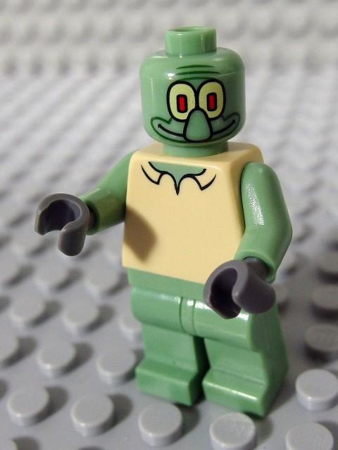 レゴ ミニフィグ スポンジボブ 003 スクイッドワード_A