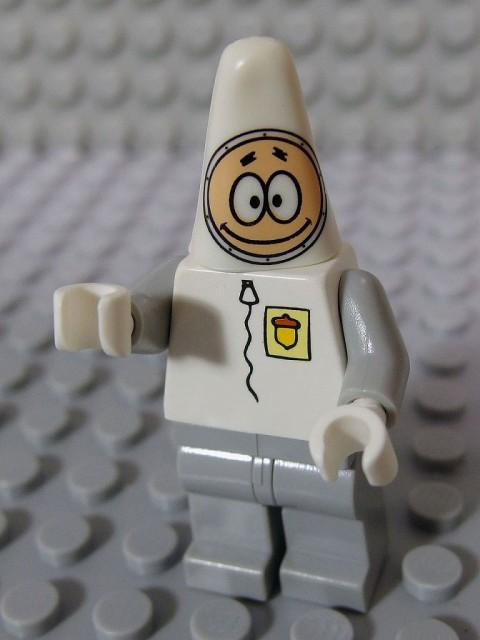 レゴ ミニフィグ スポンジボブ 013 パトリック・宇宙飛行士