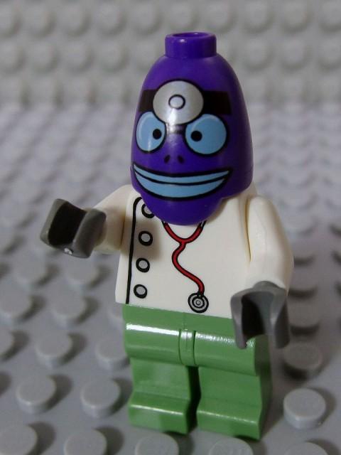 レゴ ミニフィグ スポンジボブ 017 ビキニボトム・エマージェンシー・ルームドクター
