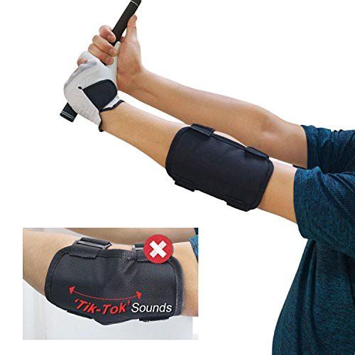 「配送無料」Setokaya ゴルフ スイング矯正 手打ち防止 ベルト スイング 練習 肘 サポーター QBJJQ-01