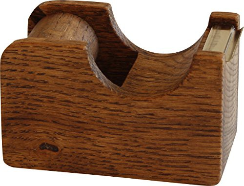 「配送無料」オークヴィレッジ テープカッター 小 ブラウン 幅7.3奥行3.9高さ4.6cm 01015-11