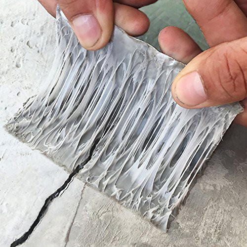 「配送無料」超強力補修テープ 防水 ブチルテープ 屋根防水テープ 水漏れ パテ 固定 屋内 屋外業務 家庭 工業 多用途(5cm幅5m長さ)