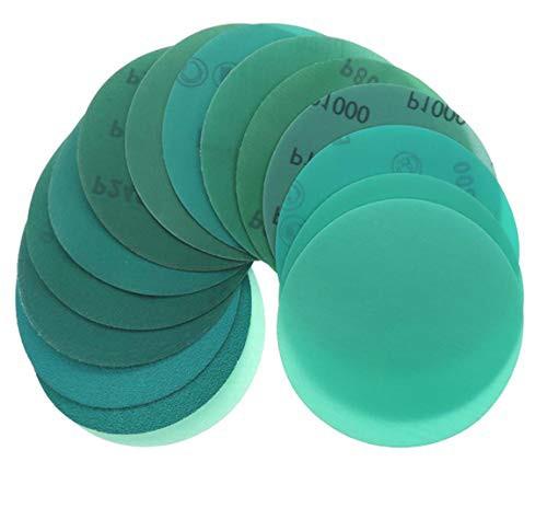 「配送無料」YONIK 耐水ペーパー サンドペーパー 丸型 フィルム研磨材 サンダー用 プラスチック やすり 耐久 10枚セット 125mm (120 180