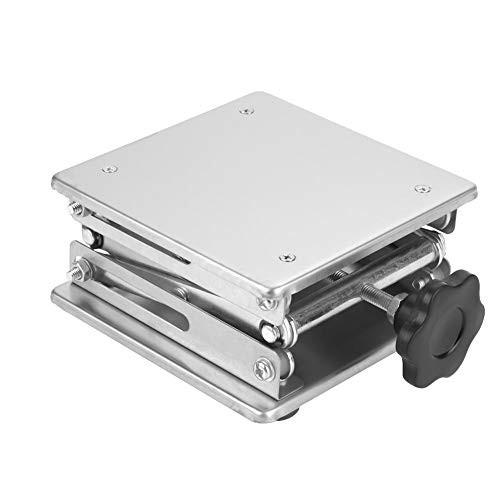 「配送無料」リフトプラットフォーム 実験台・作業台 ステンレス鋼シザーリフティングジャックラボリフティングプラットフォームスタンド