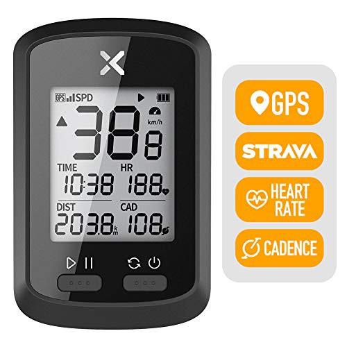 「配送無料」XOSS G GPSサイコンサイクリングコンピュータ、バッテリー内蔵 ハンディワイヤレスサイクリングスピードとケイデンスセンサ