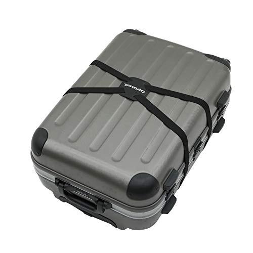「配送無料」CapitaLand. スーツケース ベルト 荷物固定 荷物まとめるベルト 長さ調整可 旅行便利グッズ 軽量 荷物用固定ベルト ゴム素材