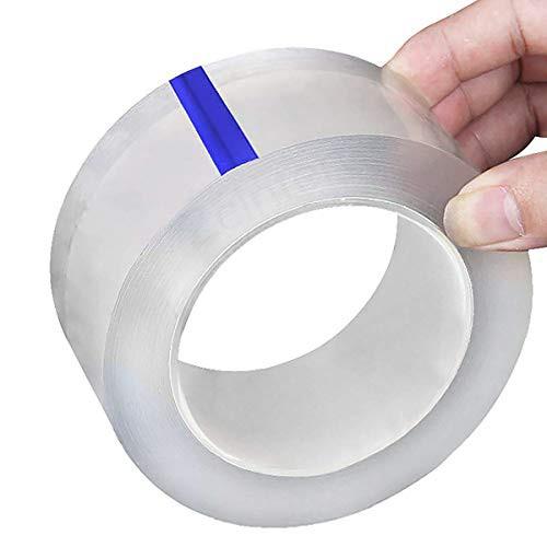 「配送無料」KOYOI 防カビテープ のり残らず 繰り返し 防水 防油 防カビ 汚れ防止 強力 透明 洗濯可能 多機能 防水テープ 補修テープ 台