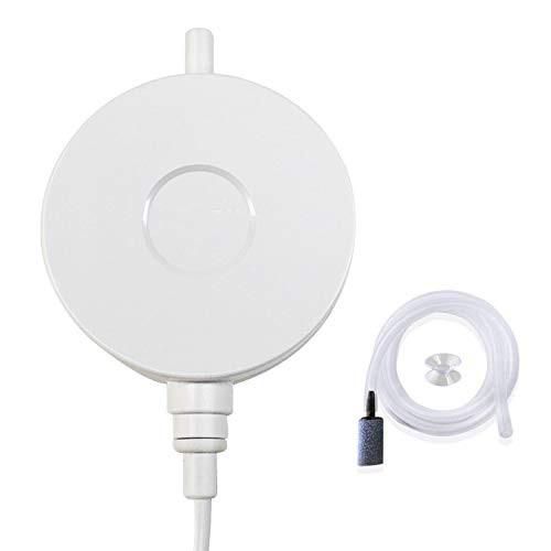 「配送無料」2020最新デザイン 水槽エアーポンプ 小型エアーポンプ 0.5L / Min空気の排出量 空気ポンプ 低騒音 効率的に水族館/水槽の酸