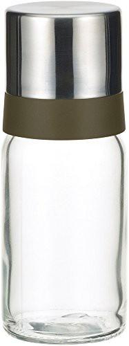 iwaki(イワキ) 耐熱ガラス 調味料入れ オイルボトル オイル差し ブラック 120ml KS521-SVON