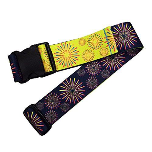 ウエストポイント 鞄帯 スーツケースベルト 和柄 青花火 WPJ-103