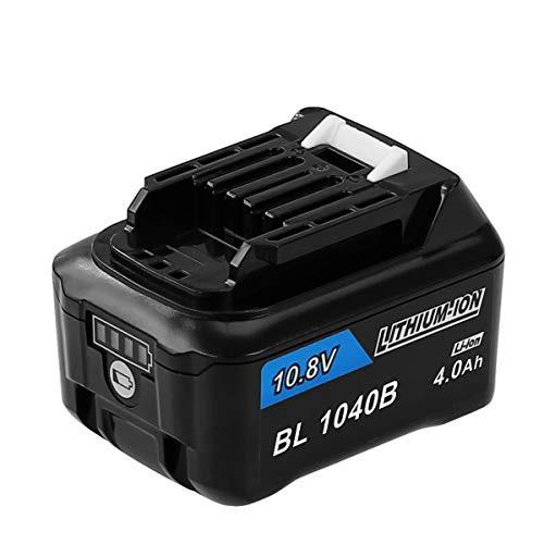 DOSCTT 互? マキタ 10.8V バッテリー 4000mAh BL1015 BL1040B BL1060 互換バッテリー 掃除機/電動工具用 BL1050B BL1041B-2 BL1021B BL1