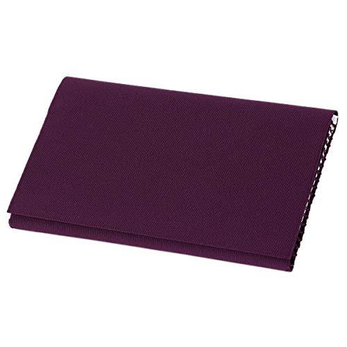 【送料無料】懐紙入れ 袱紗ばさみ 数珠袋 男性 女性 日本製 西陣織 綴 シルク100% 紫