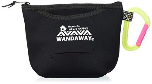 【送料無料】WANDAWAY 消臭マナーポーチ・ラージ ブラック ペット用