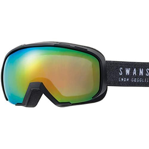 【送料無料】SWANS(スワンズ) スキー スノーボード ゴーグル くもり止め ミラーレンズ メガネ使用可 080-MDHS