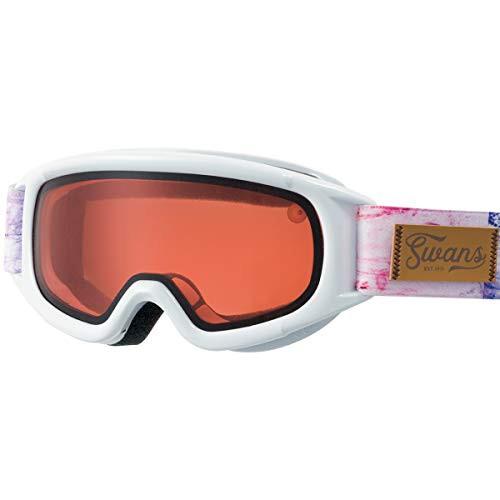 【送料無料】【国産ブランド】SWANS(スワンズ) 子供用ゴーグル 5歳〜12歳 眼鏡使用可 スキー スノーボード ジャンピン JUMPIN-DH