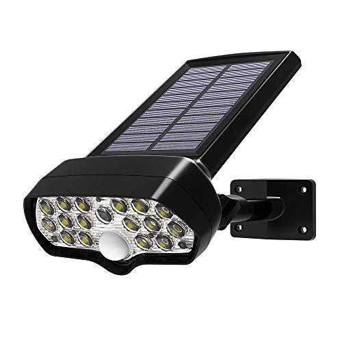 【送料無料】17 LED ソーラー ライト センサー ライト 屋外 人感 センサーライト ガーデン ライト 灯篭 壁掛け 明るい 人感センサー 屋外
