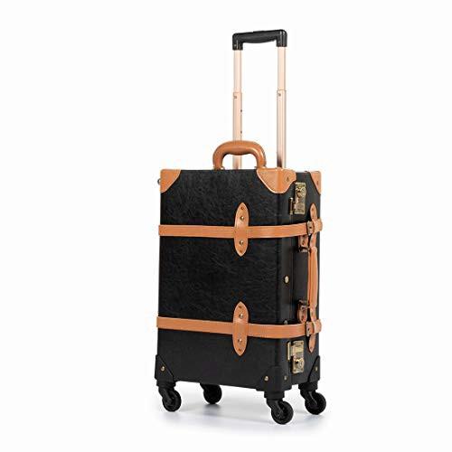 【送料無料】[COTRUNKAGE] キャリーケース アンティーク スーツケース TSAロック搭載 トランクケース ヴィンテージ風 キャリーバッグ ス