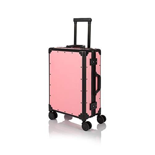 【送料無料】[COTRUNKAGE] スーツケース かわいい キャリーケース 機内持ち込み TSAロック搭載 トランク レトロ キャリーバッグ スーツケ