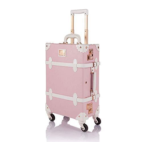 【送料無料】[COTRUNKAGE] キャリーケース かわいい スーツケース ヴィンテージ風 トランクケース TSAロック搭載 キャリーバッグ スーツ