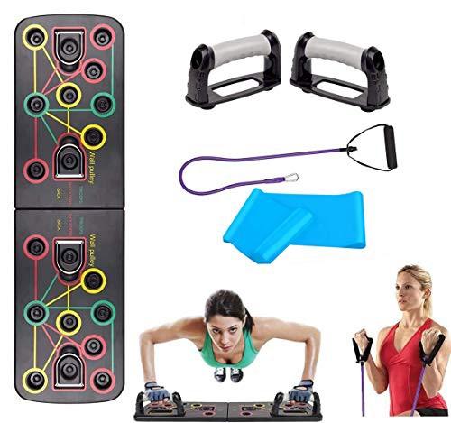 【送料無料】TOCO FREIDO プッシュアップボード 【令和最新】 腕立て伏せ トレーニング 器具 二頭筋 肉体改造 筋肉トレ 【多種類セット】