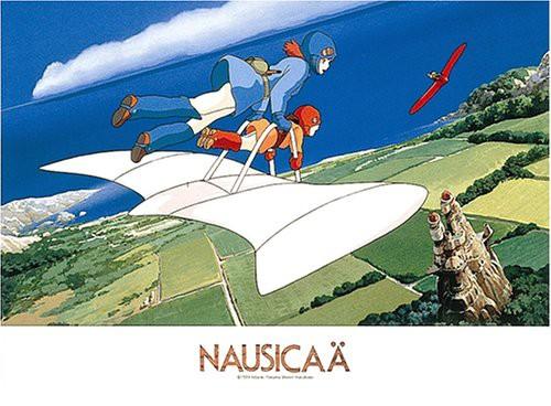 ジグソーパズル 500ピース 風の谷のナウシカ 風に乗って (500-230)