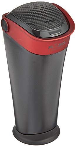 送料無料【Amazon.co.jp 限定】カーメイト RAZO 車用 ゴミ箱 ボトルタイプ カーボン調 レッド RG112
