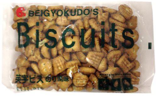 【新品】米玉堂食品 英字ビス のり風味 190g12袋