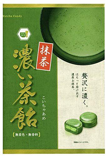 【新品】日進製菓 濃い茶飴 100g12袋