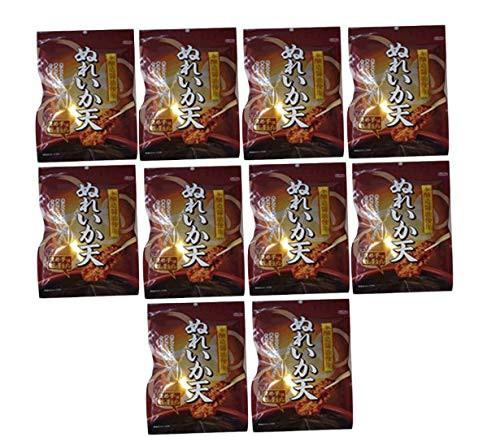 【新品】ぬれいか天 しっとりイカ天 本醸造醤油使用 70g (10袋セット)