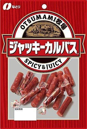 【新品】なとり OTSUMAMI牧場 ジャッキーカルパス 64g6袋