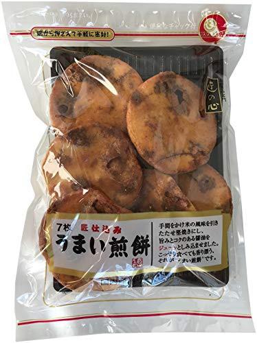 【新品】丸彦製菓 うまい煎餅 7枚 12袋