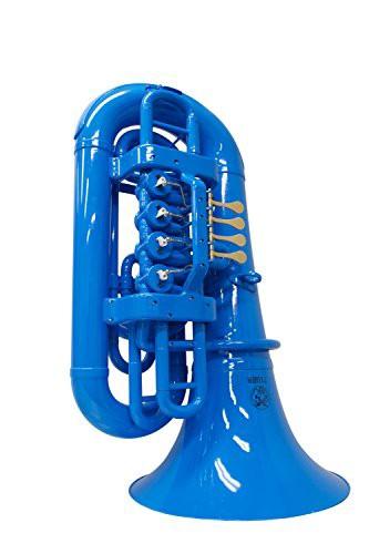 送料無料タイガー TIGER プラスチック製テューバ PTU-02 カラー:ブルー