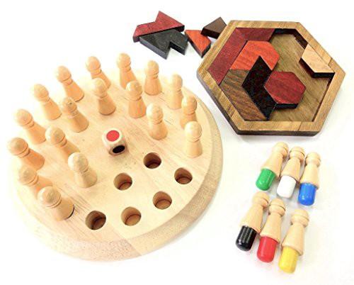 送料無料【ぴぴっと】 リハビリ 訓練 老化防止 木製パズル 介護 知育 大人 子供 指先 脳トレ 集中力 ゲーム 2種類セット