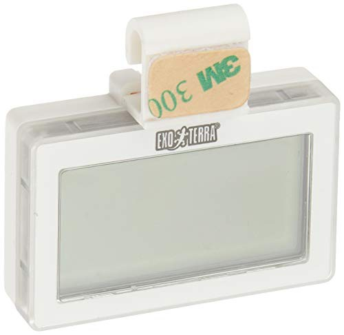 送料無料GEX EXOTERRA コードレスデジタル温湿度計 3WAY設置OK ワイヤーケージにも [爬虫類用 ]