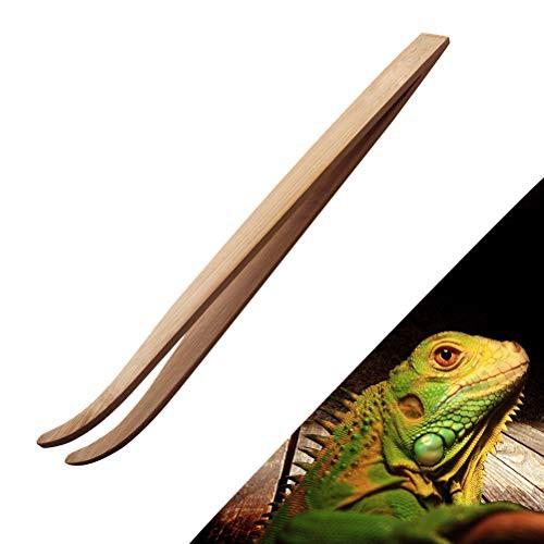 送料無料テラリウム ピンセット ペット 昆虫 爬虫類 両生類 餌やり・掃除用 竹製 1点入り(28cm)