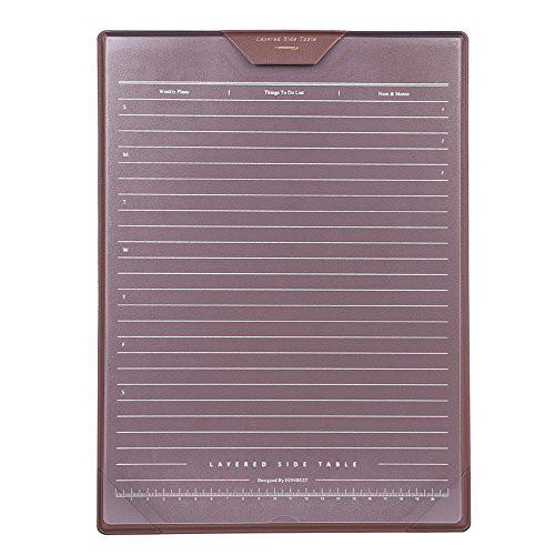 送料無料メモパッド 下敷き クリップボード A4サイズ 高級 革製 マウスパッド 3層構造 付箋貼り メッセージ ボード 名刺/書類/ファイルホ