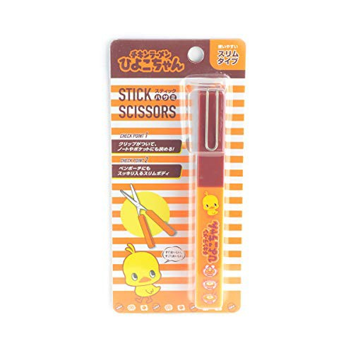 送料無料サカモト(Sakamoto) おやつマーケット スティックハサミ チキンラーメン 44706001 オレンジ