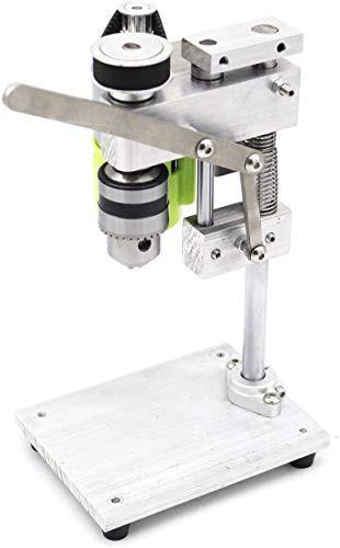 送料無料KK moon ベンチドリル 機械 小型ドリル 出版物DIY 木製 金属 電動工具の 可変的 速度 チャック1.5-10mmミニチュア 小さい ベンチ