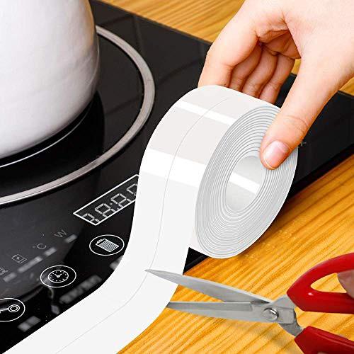 送料無料Smilerain 防水テープ 魔法のテープ 透明 隙間テープ 防カビテープ 強粘着 耐熱 アクリル PVC 防水 防カビ 防油 防汚 洗濯可能