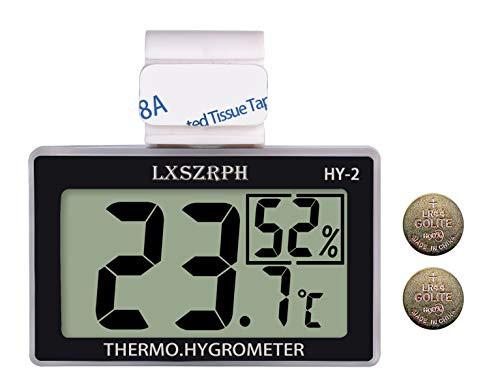 送料無料温度計 爬虫類 湿度計 室温計 デジタル 両生類 温湿度計 HD液晶 ベルクロ フック付き 爬虫類タンク テラリウム 飼育室 ビバリウ