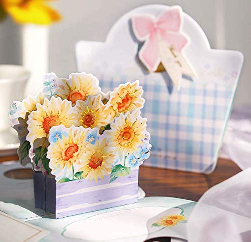 送料無料グリーティングカード 3D立体カード メッセージカード 記念日カード プレゼント 手紙カード 結婚 封筒付き