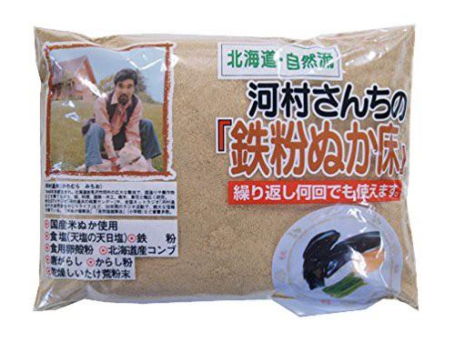 [新品]中村食品 河村さんちの鉄粉ぬか床 1kg