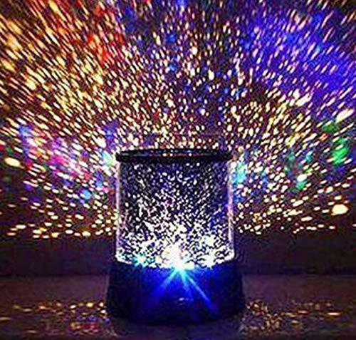 【送料無料】【 Alnair 】 インテリア プロジェクター 投影 七色発光 プラネタリウム 星空 星 夜空 風 LED ライト