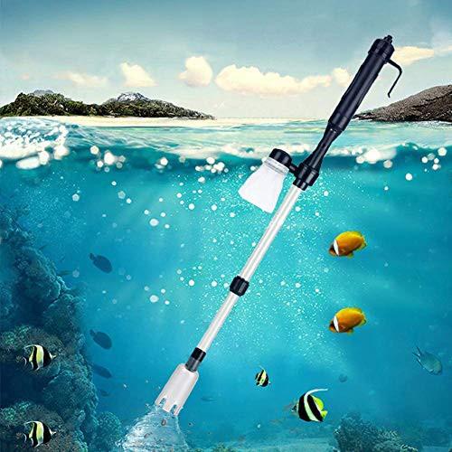 【送料無料】水交換ポンプ 水槽清掃ポンプ クリーナーポンプ 水槽掃除機 電動式 長さ調整 水替え 砂掃除 魚糞清掃 アクアリウム用