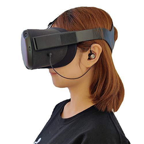 【送料無料】Stars Tech イヤホン 高音質Oculus Quest VR(オキュラス クエストVR) ヘッドセット専用