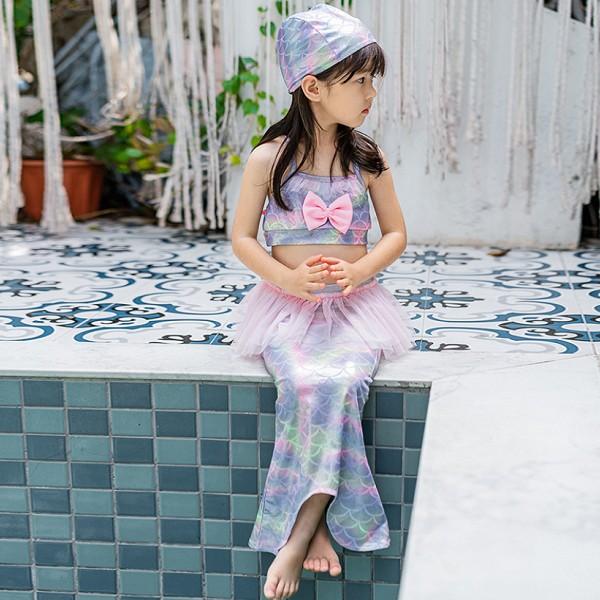 人魚姫 ガールズ コスプレ 人魚 水着 リトルマーメイド アリエル プリンセス 子供 スイムウエアCEL-590579369097