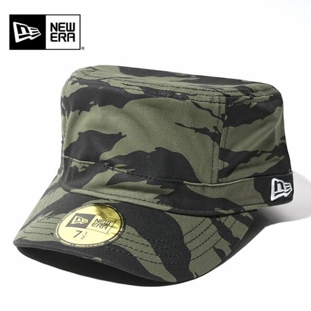 newera ニューエラ ワークキャップ WM-01 帽子 メンズ タイガーストライプカモ