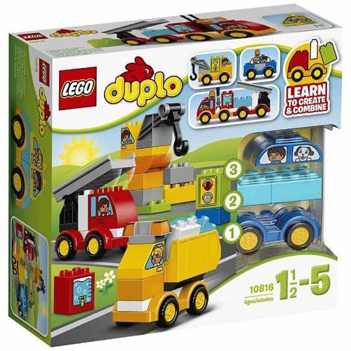 レゴ デュプロ 10816 はじめてのデュプロ くるまとトラック