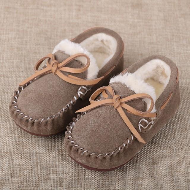 男女兼用 子ども用くつ スリッパ 綿靴 脱ぎ履きやす 保暖 防滑 軽量 くつ 柔軟で快適 秋冬かわいい カジュアルくつ